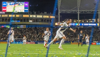 Zlatan Ibrahimovic Scores Twice as Union Lose to LA Galaxy