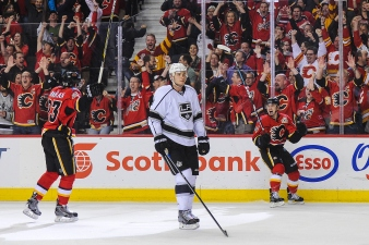 No Post Season for Kings in Loss to Flames, 3-1
