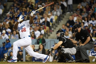 Puig Propels Dodgers Into First Place
