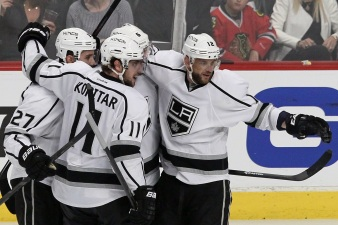 Kopitar Line Comes Through in Kings' Loss