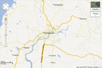 Citizen Cartographers Map North Korea for Google