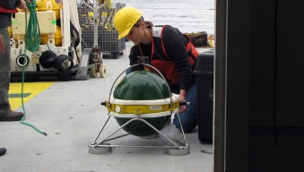 Seismometers Overboard: Researchers to Study Off-Shore Fault