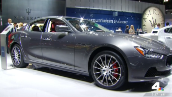All the Amazing Cars at the LA Auto Show