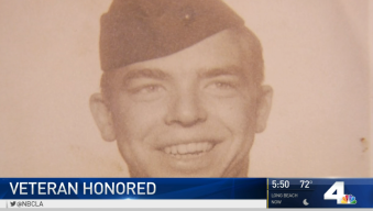 WWII Vet Surprised With Purple Heart After 70 Years