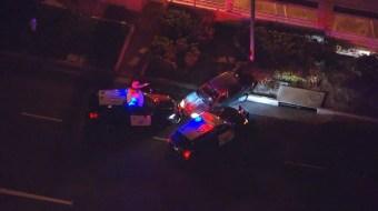 Pursuit Driver Taken Into Custody in Orange County