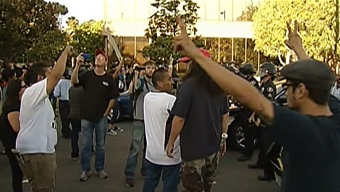 Anaheim Police Seek to Ease Tensions