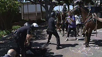 Arrests Made in Anaheim Shooting Protests