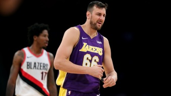 Lakers Put Andrew Bogut on Waivers, Open Roster Spot