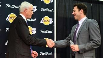 Lakers Intro Coach Luke Walton
