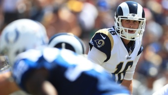 Goff, LA Rams Trample Colts 46-9