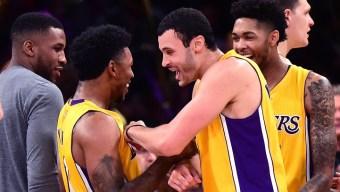 Lakers Nick Young Hits Unorthodox Game Winner