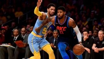Paul George, Thunder Send Lakers Crashing