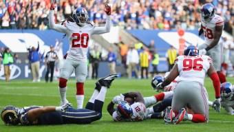 Keenum, Rams Lose to Giants 17-10