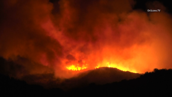 Firefighters Battle Potrero Fire Near Thousand Oaks