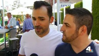 Couple Who Helped Overturn Prop 8 Attend LA Pride