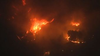 Saddleridge Fire: Wildfire Spreads Into Porter Ranch Area