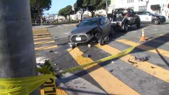 Police Involved in Two Crashes in San Francisco
