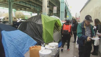 San Francisco Homeless 'Herded' Out of Super Bowl City