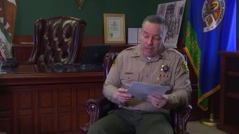 Sheriff Directed Staff to Reconsider Misconduct Probes
