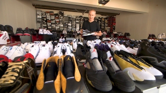 Bay Area Man Amasses Staggering Collection of Air Jordans