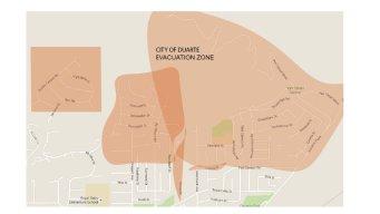 Azusa, Duarte Fire Evacuations: Where to Go