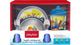 3.6M Choking-Risk Children's Playtex Plates, Bowls Recalled