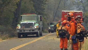 Wildfire Scorches 4,300 Acres of California Wine Country