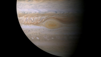Jupiter's Great Red Spot Gets a Close-Up