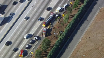 Two Killed in 605 Freeway Rollover Crash