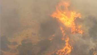Sand Fire 25 Percent Contained