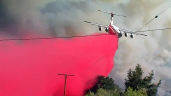 Pilot Fire Triples in Size Overnight
