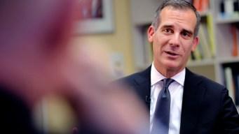 NewsConference: LA Mayor Garcetti, Will He or Won't He?