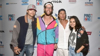 Celebrities Flock to Dodger Stadium for Ping Pong Tourney