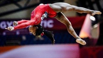 Still Golden: Biles, Americans Roll at World Championships
