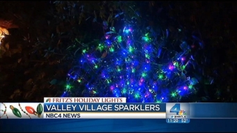 Fritz's Holiday Lights: Radiating Holiday Cheer in Valley Village