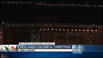 Fritz's Holiday Lights: Massive Display in Redlands Controlled by Cell Phone