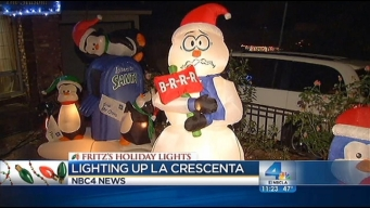 "Fritz's Holiday Lights: La Crescenta Home ""Like a Theme Park"""