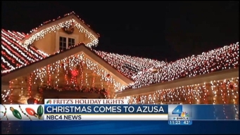 Fritz's Holiday Lights: Family's Massive Light Display in Azusa