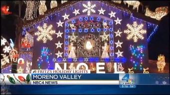 Fritz's Holiday Lights: Dazzling Duplex in Moreno Valley