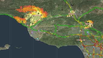 Interactive Maps: Views of the Fire