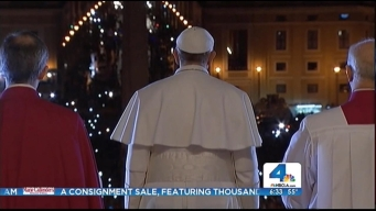 Pope Francis Begins First Full Day