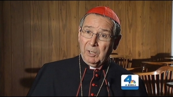 Cardinal Roger Mahony Defends Role in Papal Conclave