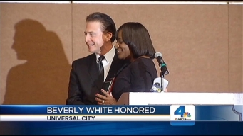 NBC4's Beverly White Honored as SPJ Distinguished Journalist