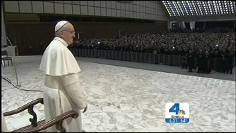 Pope Francis Meets the Media at the Vatican