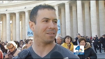 SoCal Faithful Converge for Installation of Pope Francis