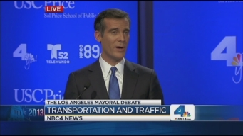 LA Mayoral Candidates Lay Out Plans to Ease Traffic