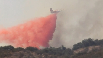 Drone Disrupts Air Drops Over IE Brush Fire