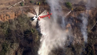 Small Brush Fire in Pacific Palisades Knocked Down