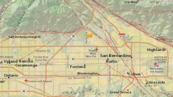 2.5-Magnitude Quake Strikes Near Fontana