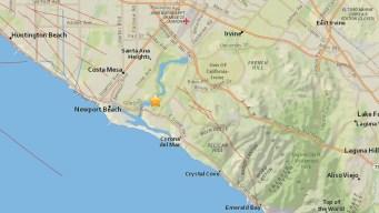 2.8-Magnitude Quake Rattles Newport Beach Area